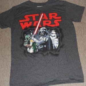 STAR WARS Darth, Boba Fett, storm trooper Tee